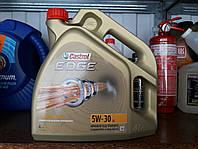 Синтетическое моторное масло Castrol EDGE 5w30 4литра VW 504/507