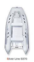 Надувная лодка Grand Marine SILVER LINE Riders S370N с жестким корпусом (RIB) - GRAND-S370N