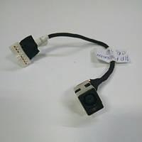 Разъем питания на шлейфе HP Compaq Presario CQ56, CQ62 (DD0AX6PB000)
