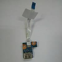 Плата USB HP Compaq Presario CQ56, CQ62 (DA0AX1TB6E0)