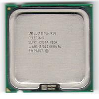 Процессор Intel Celeron 420  1600MHz, LGA775, L2 512Kb, 800MHz