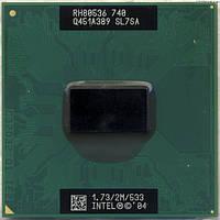 Процессор Intel Pentium M740 (2M Cache, 1.73 GHz, 533 MHz)
