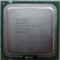 Процессор  Intel Celeron D 330J (256K Cache, 2.66 GHz, 533 MHz FSB. s478/775)