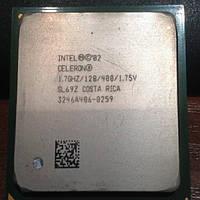 Процессор  Intel Celeron 1.70 GHz, 128K Cache, 400 MHz FSB s478