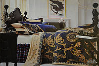 Комплект постельного белья GoldenTex S603 Жаккард Сатин 150*210 (Полуторный)