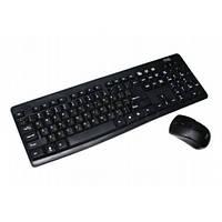 Комплект беспроводной (KB+Mouse) HQ-Tech KM-32RF Black 2.4G USB nano