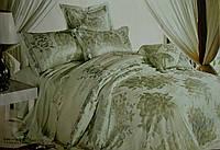 Комплект постельного белья GoldenTex S105 Жаккард Сатин 150*210 (Полуторный)