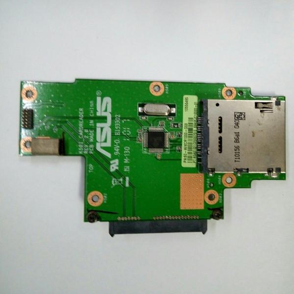 Плата картридер, подключение HDD Asus K50 (K50I_CARDREADER)