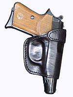 Кобура поясная кожаная формованная №3 (ПМ)