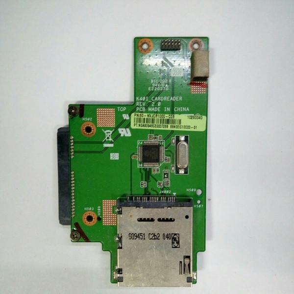 Плата картридер, подключение HDD Asus K40AB (K40I_CARDREADER)