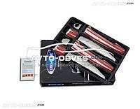 Накладки на ручки открывания дверей Peugeot 308 (2007-2013), 4 шт, нержавейка
