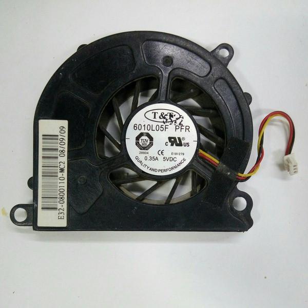 Кулер для ноутбука MSI U90, U100, U110, U120, U130 (6010L05F)