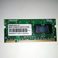 SODIMM DDR2 256MB 533 Transcend