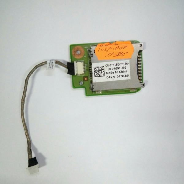 Плата картридер Dell Inspirion N5010 (cn-07n18d-70166)