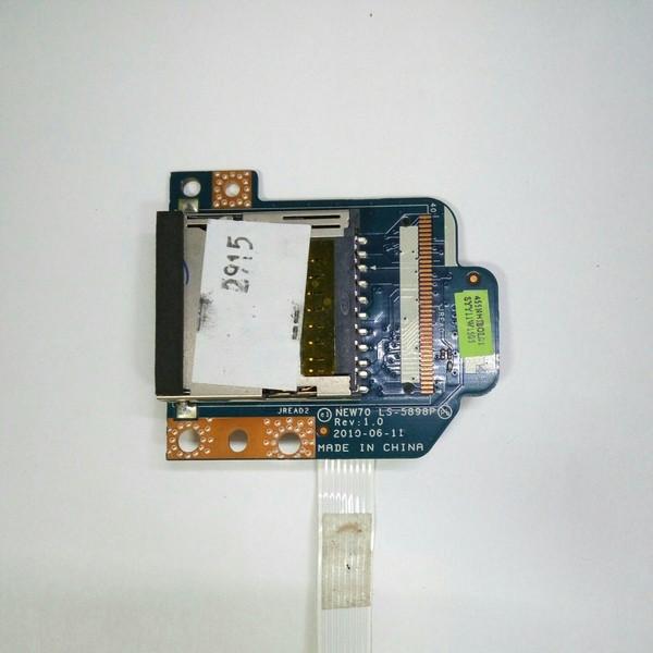 Плата картридер Acer Aspire 5742G, eMachines E642 (LS-5898P)
