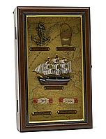 Ключница настенная Морская