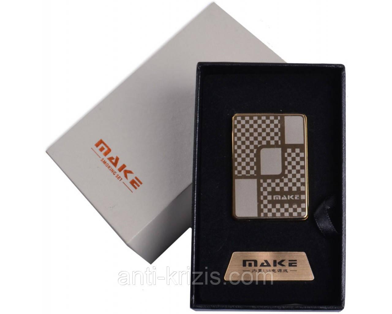 Зажигалка подарочная MAKE (спираль накаливания, USB) №4692-9