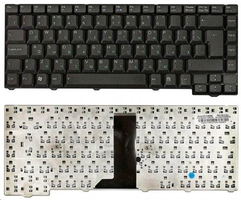 Клавиатура для ноутбуков Asus F2, F3. F3J, F3Jc, F3Jm, F3T, F5, T11, R