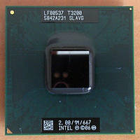 Процессор Intel Pentium T3200 (1M Cache, 2.00 GHz, 667 MHz)  Socket P
