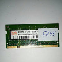 SODIMM DDR2 256MB PC2-5300 Hynix