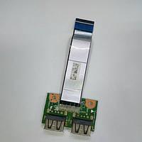 Плата USB HP 630, Compaq Presario CQ57 (35110CJ00-04T)