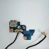 Плата USB, кнопка ВКЛ Samsung RV709 (BA92-07488A)