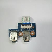 Плата аудио выход HP ProBook 4520s (50.4GK03.001)
