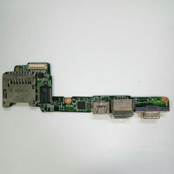 Плата VGA, HDMI, LAN картридер MSI X340 (MS-13520)