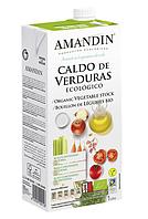ВЕГА овощной бульон BIO 1 литр  Amandin