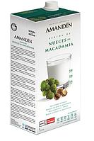 ВЕГА молоко с орехом макадамия BIO 1 л Amandin