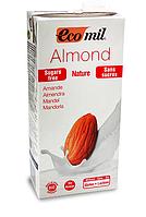 ВЕГА миндальное молоко без сахара BIO 1 л Ecomil