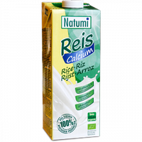 ВЕГА молоко рисовое натуральное с кальцием BIO 1 л Natumi