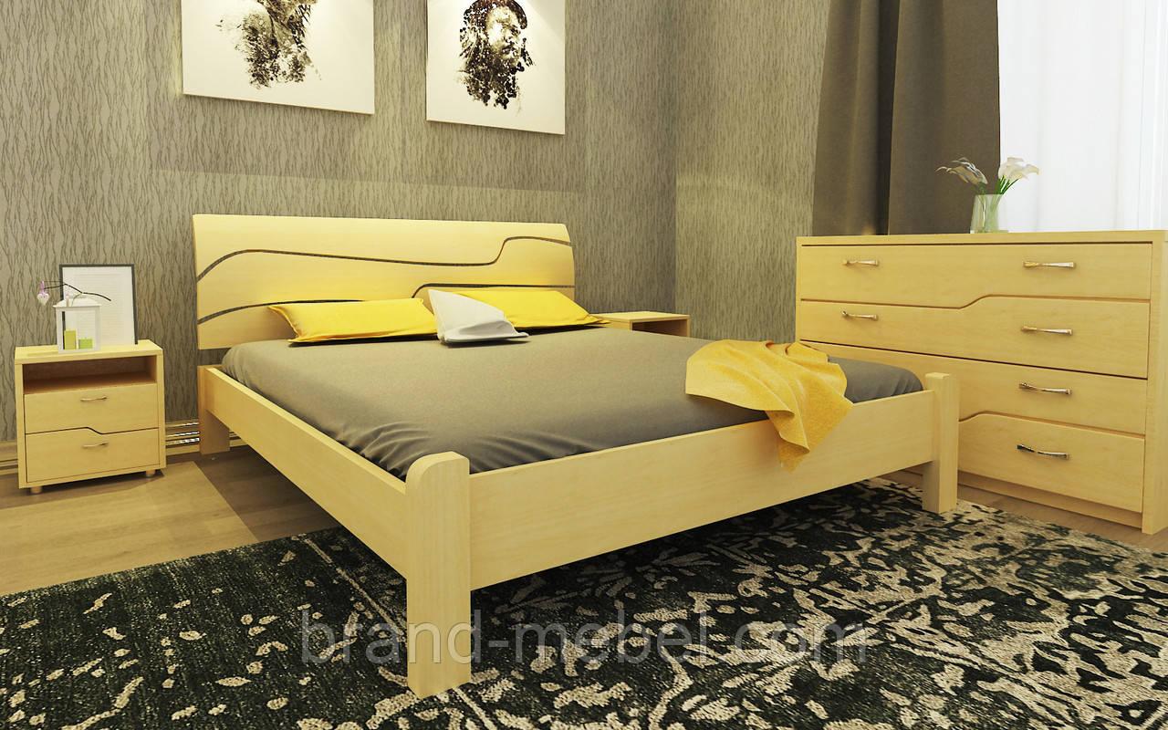Деревянная кровать Симфония