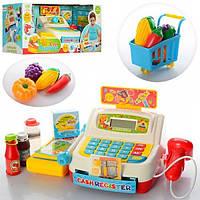 Кассовый аппарат 35563 А звук,микрофон,весы,калькулятор,сканер