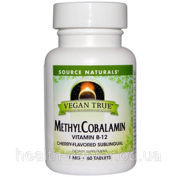 Витамин В12 Метилкобаламин 1000 мкг 60 таб для нервной системы ...