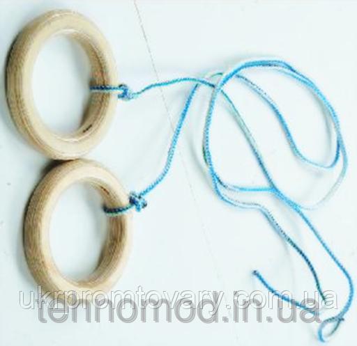 Кольца гимнастические К15 ТМ Дерево