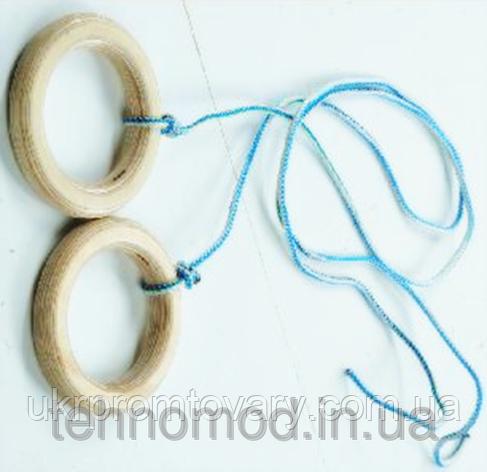 Кольца гимнастические К15 ТМ Дерево, фото 2