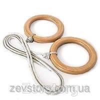 Гимнастические кольца детские деревянные