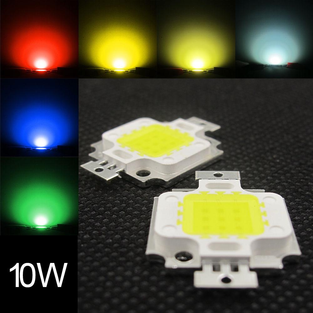 Светодиод 10W 30-36V для прожектора 10w led 10w