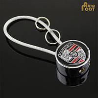 Брелок для ключей с логотипом Porsche в коробке