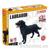 Объемный пазл 4D Master Собака Лабрадор 26488