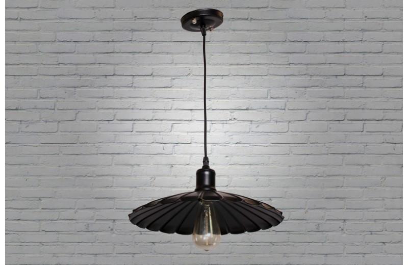 Подвесной светильник в лофт с плафоном