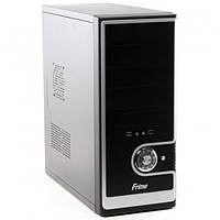 Корпус компьютерный  Frime 150BS 400W 8 cm 2 sata Fan 80 mm ATX Midi-Tower 2 x USB 2,0 400 Вт Black / Silver