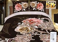 Комплект постельного белья (евро-размер) - № 642 код: 642