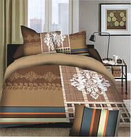 Комплект постельного белья (евро-размер) № 721 код: 721