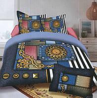 Комплект постельного белья (евро-размер) № 726 код: 726
