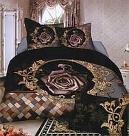 Комплект постельного белья (евро-размер) № 727 код: 727