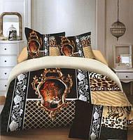 Комплект постельного белья (евро-размер) № 728 код: 728