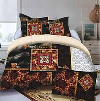 Комплект постельного белья (евро-размер) № 734 код: 734