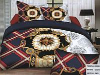 Комплект постельного белья (евро-размер) № 731 код: 731